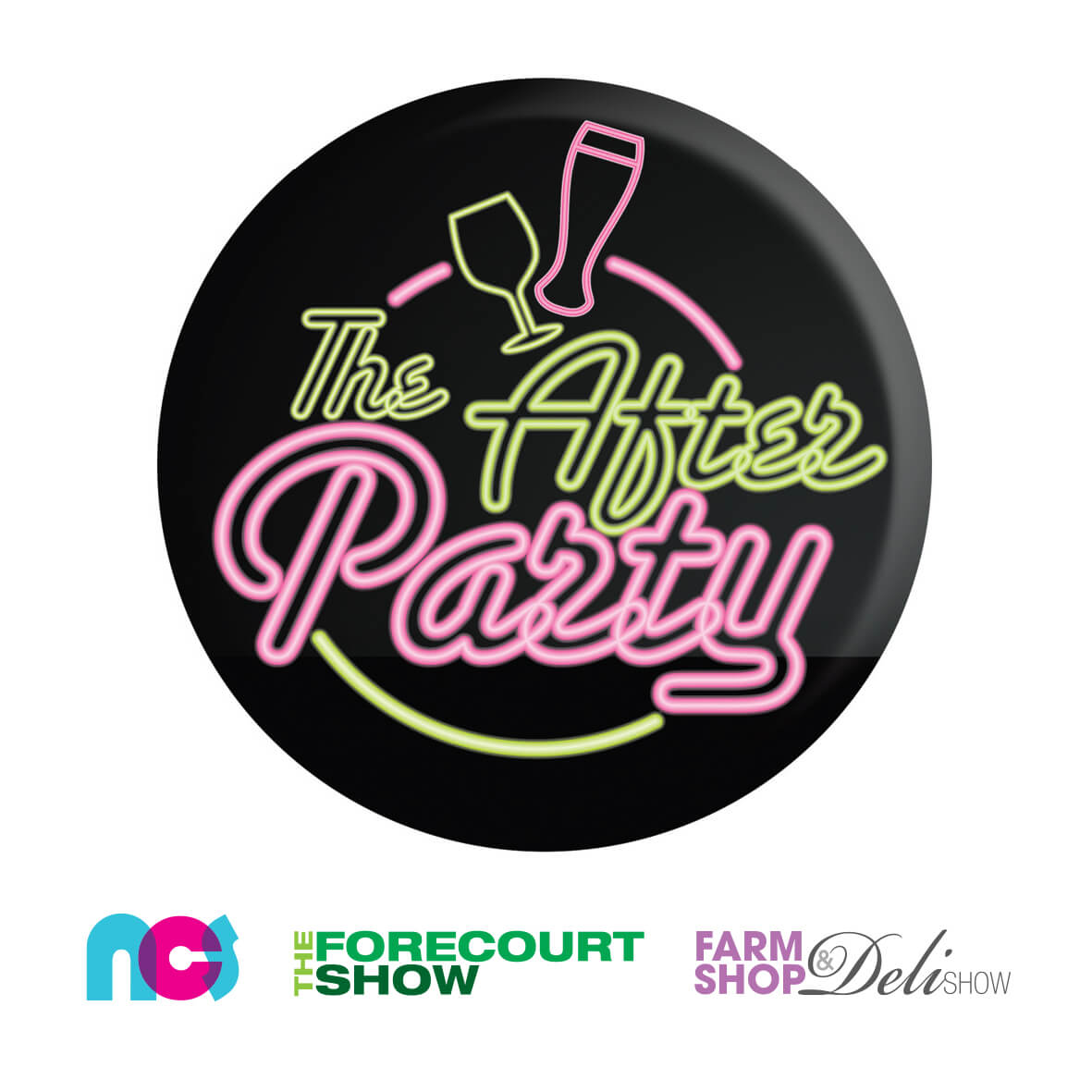 After party logo with show logos